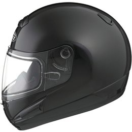GMAX GM38S Full Face Snowmobile Helmet With Flip-Up Dual Pane Shield Black