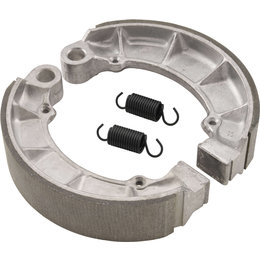 Bikemaster Rear Brake Shoes Single Set For Honda MBS1118A Unpainted