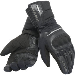 Dainese Mens Solarys Long Gore-Tex Textile Gloves Black
