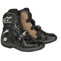 Black Alpinestars Tech 2 Boots 7