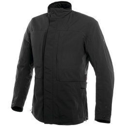 Dainese Mens Highstreet D-Dry Soft-Armored Textile Jacket Black