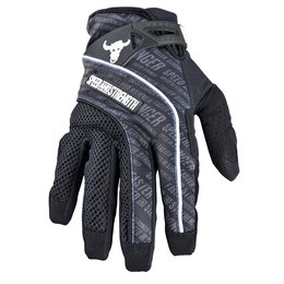 Black Speed & Strength Lunatic Fringe Mesh Textile Gloves
