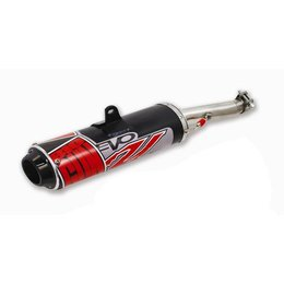 Black Big Gun Evo Utility Slip-on Exhaust For Yamaha Rhino 450 06-09