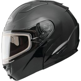 GMAX GM64S Carbide Modular Snow Helmet With Electric Heated Shield Black