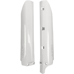 Acerbis Lower Fork Cover Set For Yamaha YZ80 YZ85 White 2404730002 White