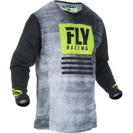Fly Racing Mens Kinetic Noiz Jersey Black