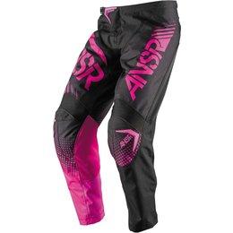 Answer Womens Syncron Motocross MX Riding Pants Black