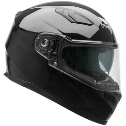 Vega RS1 RS-1 Full Face Motorcycle Riding Helmet With Flip-Up Shield Black