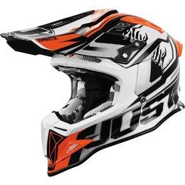 Just1 J12 J-12 Dominator MX Helmet White