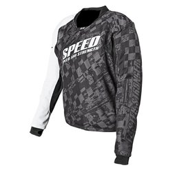 Black Speed & Strength Lunatic Fringe Mesh Riding Jersey 2014