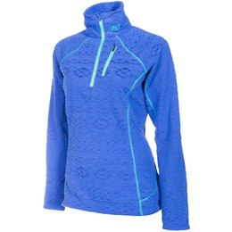 Klim Womens Equinox Insulated Thermal Snowmobile Pullover Blue