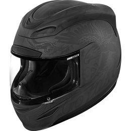 Icon Airmada Scrawl Full Face Helmet Black