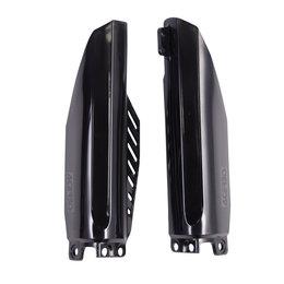 Acerbis Lower Fork Cover Set For Honda CR85R CRF150R Black 2115150001 Black