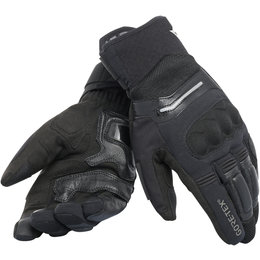 Dainese Mens Solarys Short Gore-Tex Textile Gloves Black