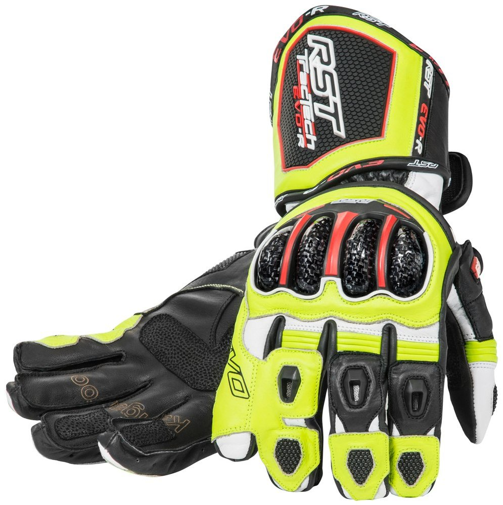 77 97 Rst Mens Tractech Evo Race Leather Gloves 262219