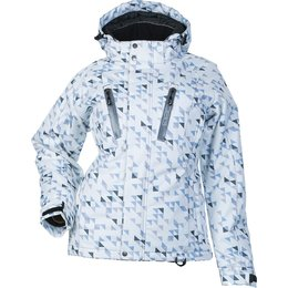 Divas Womens Craze 3.0 Snow Jacket White