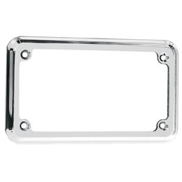Joker Machine Through-Hole License Plate Frame Chrome For H-D All Years