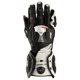 Black, White Knox Mens Hand Armour Handroid Boa Leather Gloves 2014 Black White