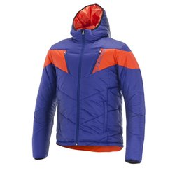 Royal Blue, Mandarin Red Alpinestars Mens Mack Textile Jacket 2014 Royal Blue Mandarin Red