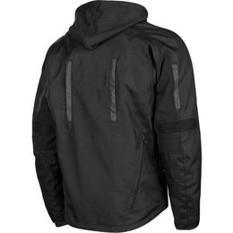 Speed & Strength Mens Fast Forward Armored Textile Jacket Black