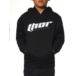 Black Thor Boys Thor Racing Pullover Hoody 2015
