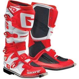 Gaerne Mens SG-12 SG12 Motocross Boots Red