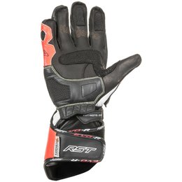 RST Mens Tractech EVO Race Leather Gloves Red