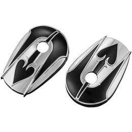 Kuryakyn Ace Of Spades Stock Mirror Accent Covers Pair For Harley Davidson