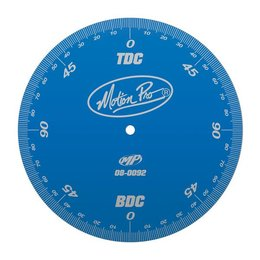 Blue Motion Pro Engine Timing Degree Wheel For 2-stroke 4-stroke Engines