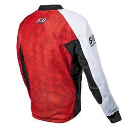 Red Speed & Strength Lunatic Fringe Mesh Riding Jersey 2014