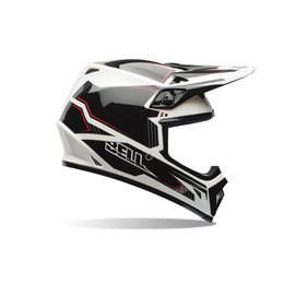 Bell Powersports MX-9 Blockade Helmet Black