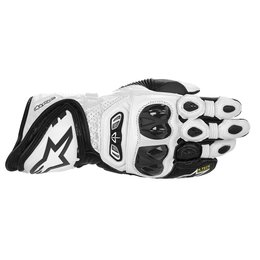 Alpinestars Mens GP Tech Leather Gloves 2014 White
