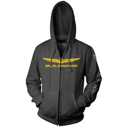 Charcoal Honda Goldwing Zip Hoody