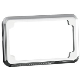 Joker Machine Blind-Hole License Plate Frame Chrome For HD All Years