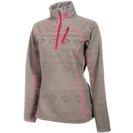 Klim Womens Equinox Insulated Thermal Snowmobile Pullover Grey