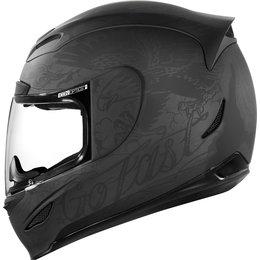 Icon Airmada Scrawl Full Face Helmet Black