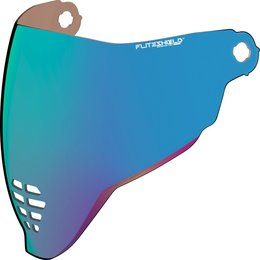 Icon Airflite Helmet Shield Blue