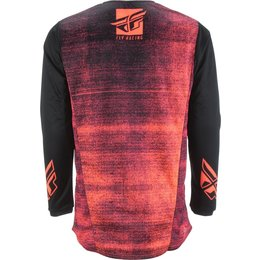 Fly Racing Mens Kinetic Noiz Jersey Red