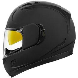 Icon Alliance GT Rubatone Full Motorcycle Helmet Black