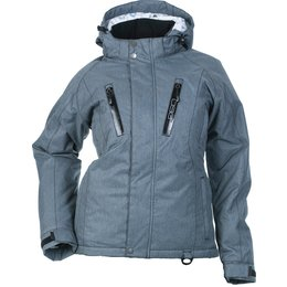 Divas Womens Craze 3.0 Snow Jacket Grey