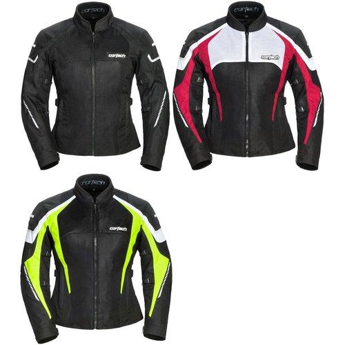 Cortech Womens GX-Sport Air 5.0 Jacket Black//Hi-Viz Large 8985-0513-76