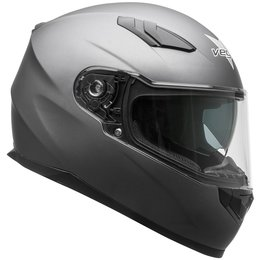 Vega RS1 RS-1 Full Face Motorcycle Riding Helmet With Flip-Up Shield Grey