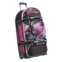 Ogio Rig 9800 Rolling Luggage Wheeled Gear Bag Pink
