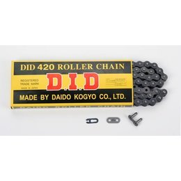 DID Chain 420 Standard Non O-Ring 100 Links Natural