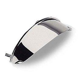 Cobra Spotlight Visor For Bullet Shaped 4-1/2 IN Chrome