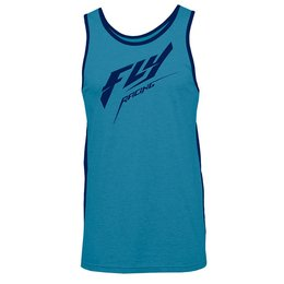 Fly Racing Mens Stock Tank Blue