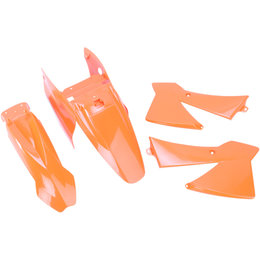 Acerbis Replacement Plastic Kit Color For KTM 65 SX 2002-2008 Orange Orange