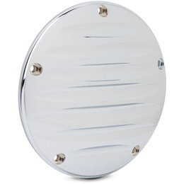 Arlen Ness Deep Cut II Derby Cover For Harley FLTR FLHTKL/CUL Chrome 30-313 Unpainted