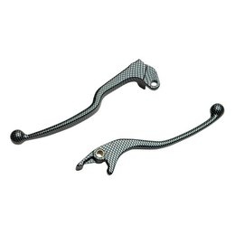 Parts Unlimited Look Levers For Brake LS Carbon Fiber For Ducati 749 999
