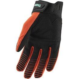 Thor Mens Rebound Gloves Orange